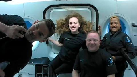 SpaceX set to complete flight of world's first private orbital crew