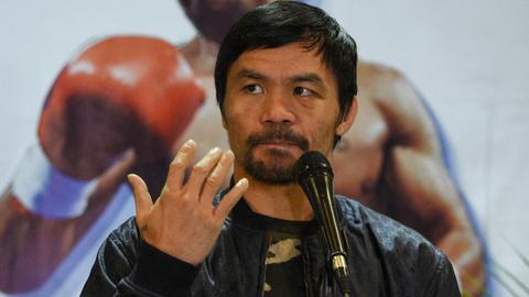 Philippines' Manny Pacquiao to run for presidential race in 2022