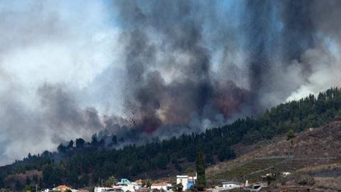Volcano erupts on La Palma in Spain's Canary Islands
