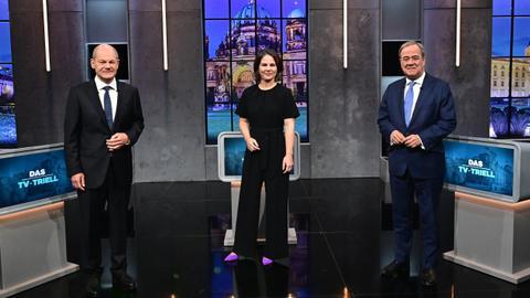 Scholz bolsters his frontrunner position in German election debate