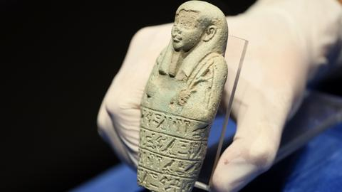 'Ready for calls of duty of gods': Egyptian 'ushabti' statuettes in Turkey