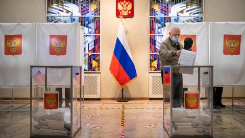 Russia parliamentary elections cement Putin's grip on power