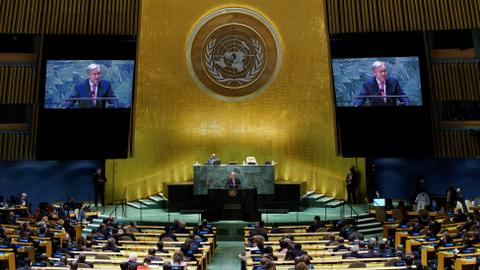'We are on the edge of an abyss': UNGA kicks off amid Covid, climate crisis