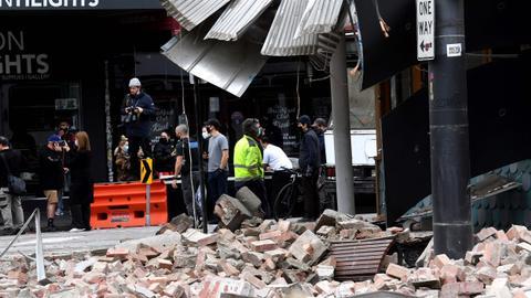 Magnitude 6.0 earthquake strikes southern Australia