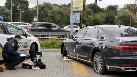 Ukraine president aide targeted in 'assassination attempt'