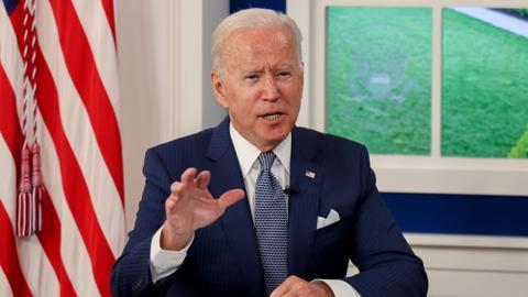 Biden says US donating extra 500 million Covid vaccines – latest updates