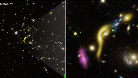 Six galaxies live 'fast and furious' lives, run out of fuel to make stars