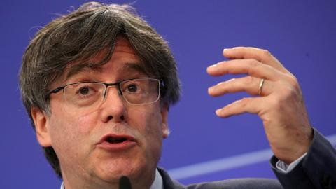 Catalan separatist leader Puigdemont arrested in Italy