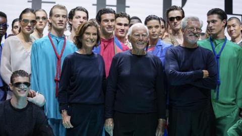 Emporio Armani celebrates 40 years with retrospective show