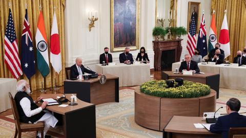 US, Japan, India, Australia vow to pursue free Indo-Pacific region