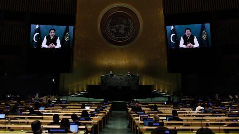 Imran Khan paints US as abandoner of Pakistan and Afghanistan