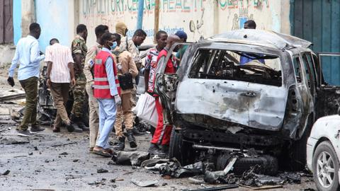 Several dead after suicide car bomb explodes in Somali capital
