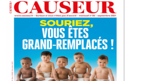 French magazine uses racist title to stoke anger against minorities
