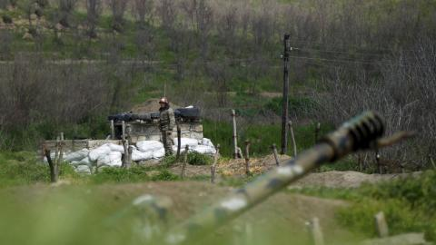 Azeri serviceman killed in Karabakh clashes