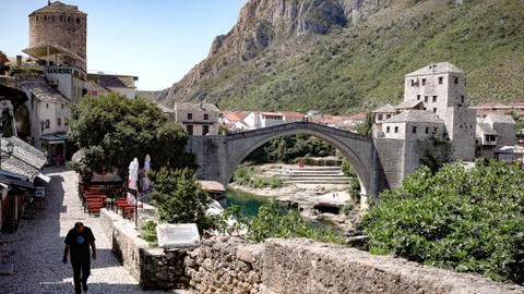 Mostar & Blagaj: An old bridge, a Sufi order and Bosnia's present and past