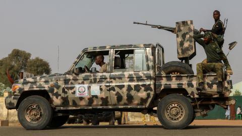 Gunmen kill dozens at village market in north Nigeria