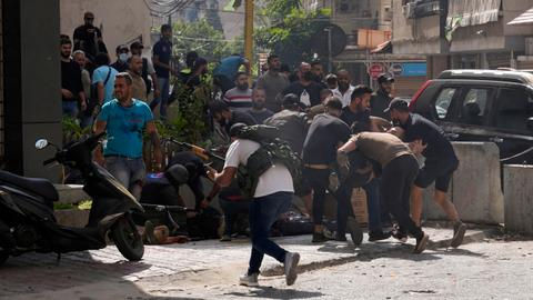 Violence in Beirut was 'a show of strength' to browbeat Lebanon's judiciary