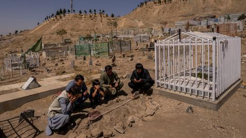 US offers to pay to relatives of Afghans killed in botched drone strike