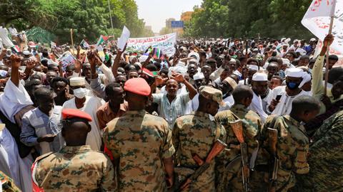 Despite Sudan's mass protests, military in control