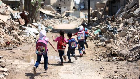 UNICEF: 462 million children live in war & disaster areas