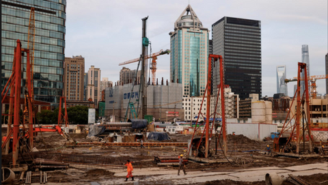 China's economy sees slowdown as pressure mounts on policymakers