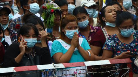 Myanmar junta to set free thousands of anti-coup protesters