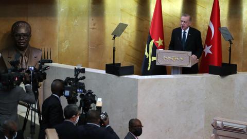 Erdogan: Turkey rejects orientalist approach towards African continent