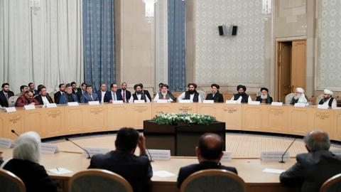Inclusive government in Afghanistan a top priority in Moscow talks