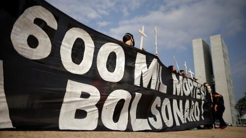 Brazil's Bolsonaro accused of homicide in Covid response probe