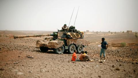 Armed militias recruit vulnerable children in the Central Sahel