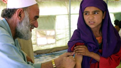 Afghan Taliban agrees to new national polio vaccination drive