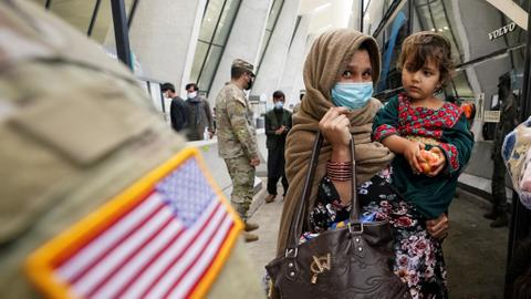 Report: Nearly half of all Afghan refugees in US are children