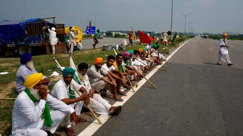 Why are Indian farmers protesting for over a year?