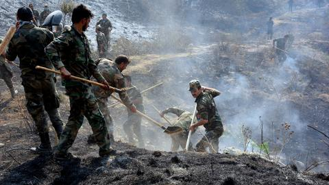 Syrian regime executes 24 men over deadly wildfires in 2020