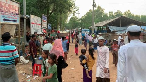 Assailants kill several people in Bangladesh's Rohingya camp