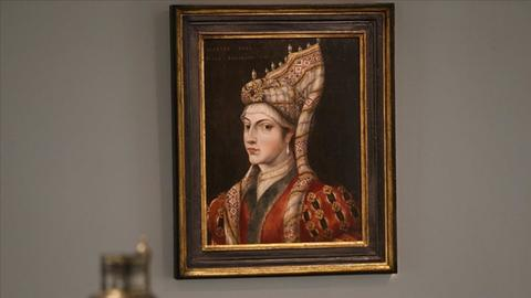 Oil painting of Suleyman the Magnificent's wife, Roxelana, to be auctioned