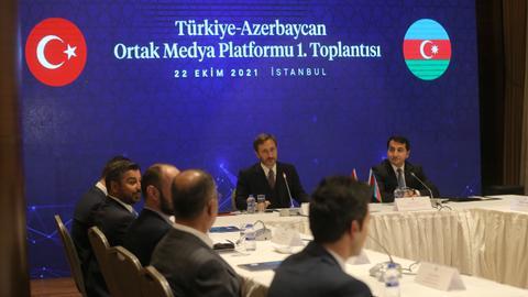 First meeting of Turkey-Azerbaijan Joint Media Platform held in Istanbul
