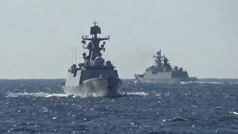 Russia, China hold naval manoeuvres in western Pacific Ocean
