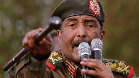 What are the main political dynamics behind Sudan's latest military coup?