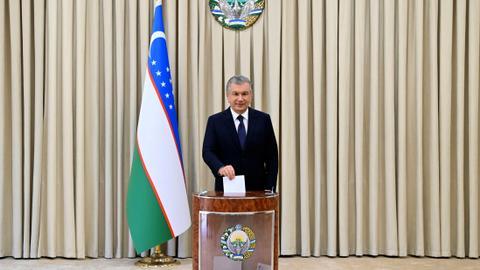 Uzbekistan President Mirziyoyev secures second term in landslide victory