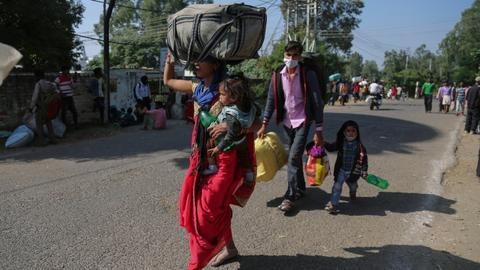What will the exodus of migrant labour mean for Kashmir's economy?