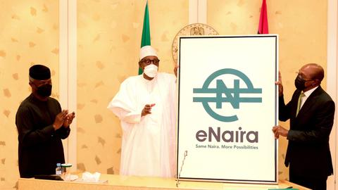 Nigeria launches its central bank digital currency eNaira