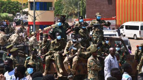 Death toll rises as Sudanese protest into night against military coup