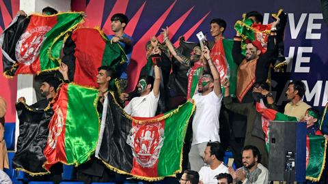 Afghans rejoice T20 win over Scotland amid uncertainty and distress