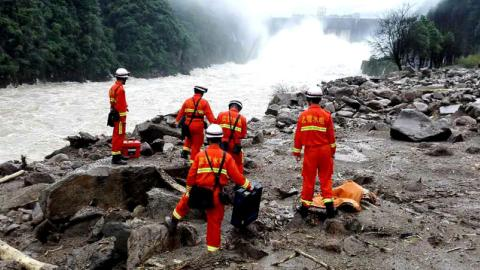 Death toll in China landslide reaches 22, 17 still missing