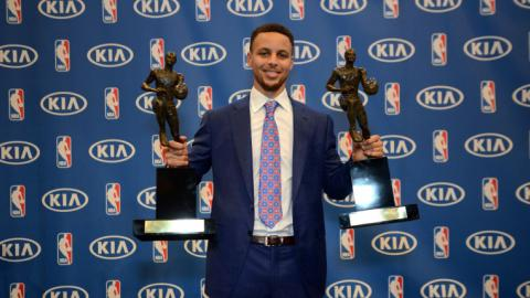 Steph Curry creates social media buzz with unanimous MVP win