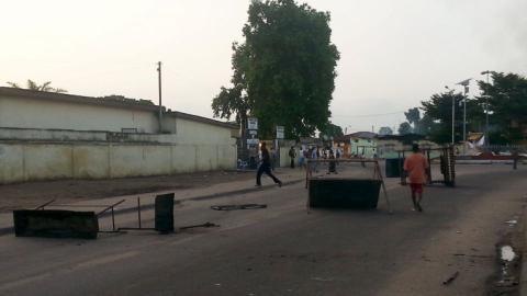 Congo police exchange gunfire in capital Brazzaville
