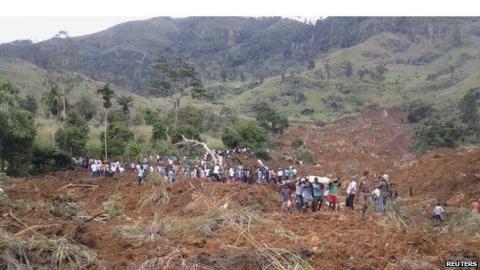 Over 100 feared dead in Sri Lanka following landslides