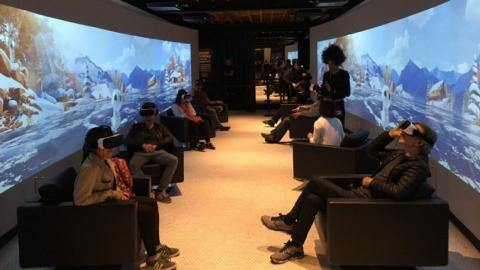 Virtual reality movies come to Cannes film festival