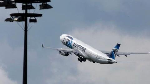 Images emerge claiming to show EgyptAir plane before crash